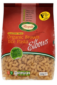 RIZOPIA Organic Brown Rice Elbows (500g)