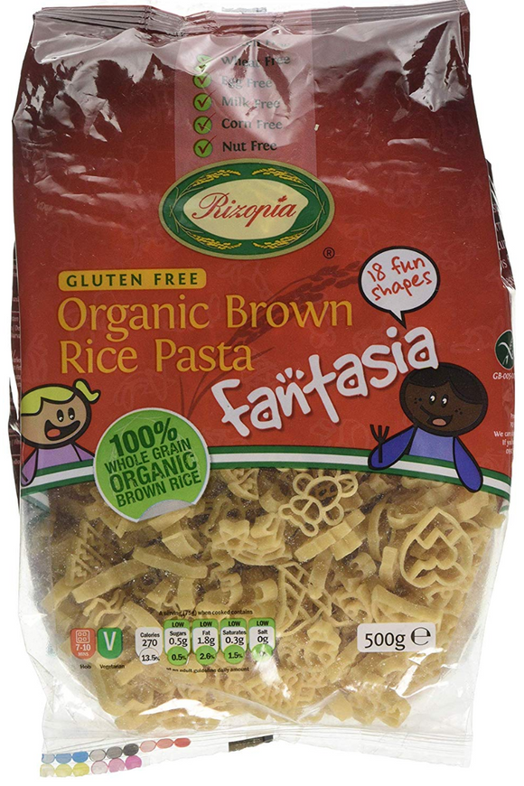 RIZOPIA Organic Brown Rice Fantasia (500g)