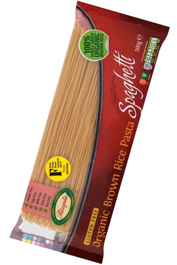 RIZOPIA Organic Brown Rice Spaghetti (500g)