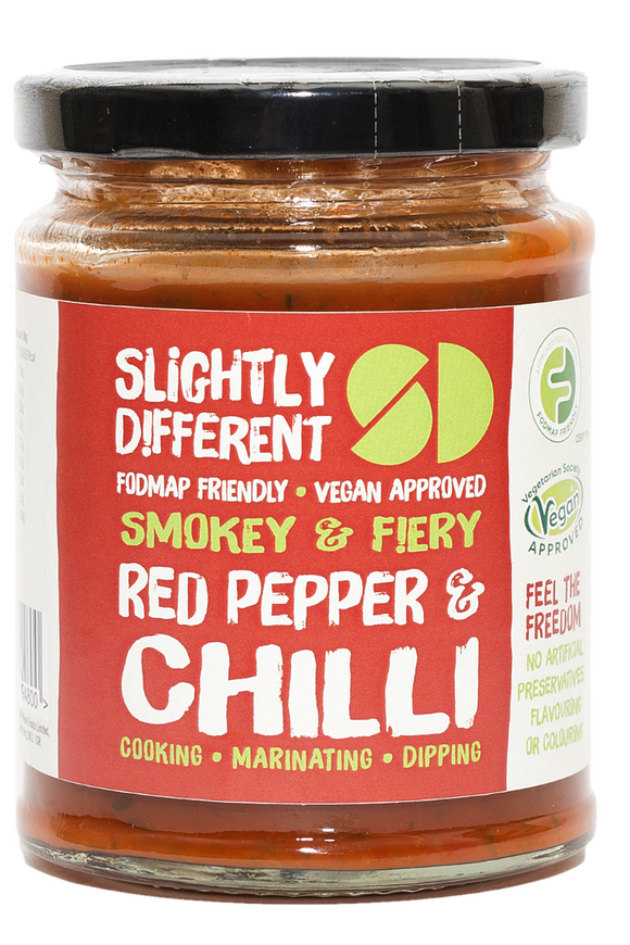 SLIGHTLY DIFFERENT Red Pepper & Chilli Sauce (265g)