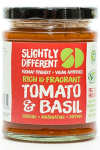 SLIGHTLY DIFFERENT Tomato & Basil Sauce (260g)