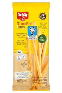 SCHAR Gluten Free Grissini (150g) - low FODMAP bread sticks