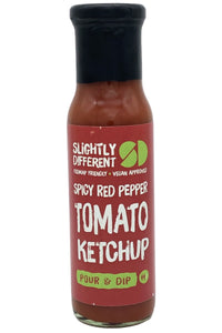 SLIGHTLY DIFFERENT Spicy Red Pepper Tomato Ketchup (250g)