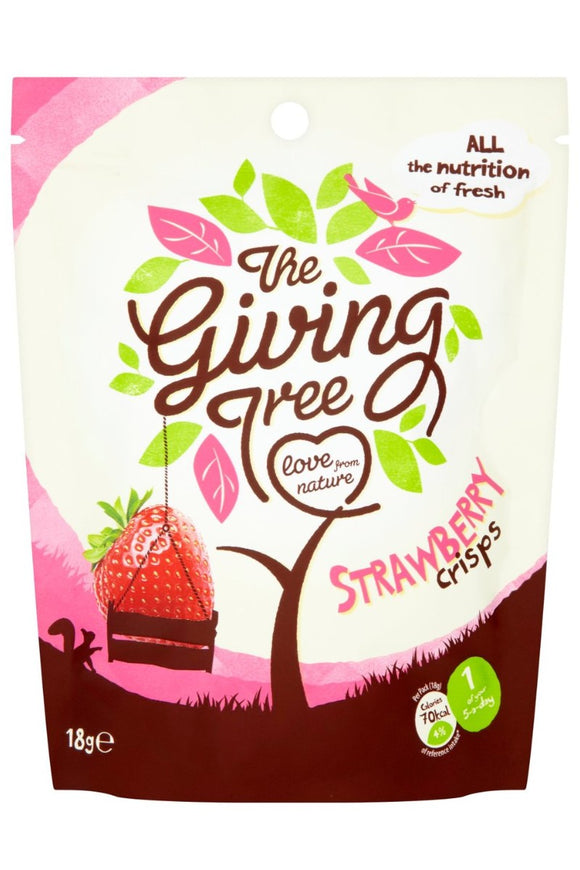 THE GIVING TREE Crispy Strawberry (18g)