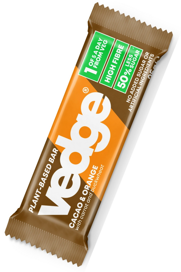 VEDGE Cacao & Orange Bar (25g)
