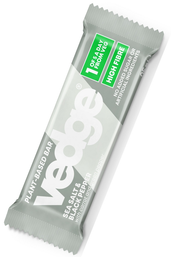VEDGE Sea Salt & Black Peper Bar (25g)