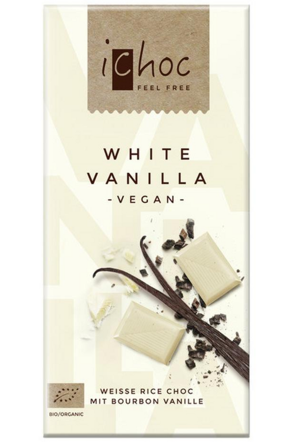 ICHOC White Vanilla Chocolate (80g)