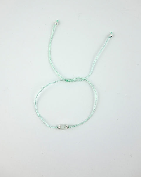 .... Grünes Everyday Companion Armband mit Mondstein .. Green Everyday Companion Bracelet with Moonstone ....