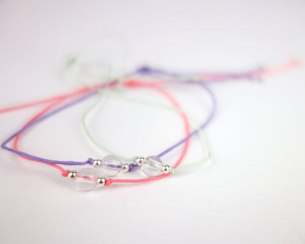 .... Everyday Companion Armband mit Bergkristall .. Everyday Companion Bracelet with Clear Quartz ....