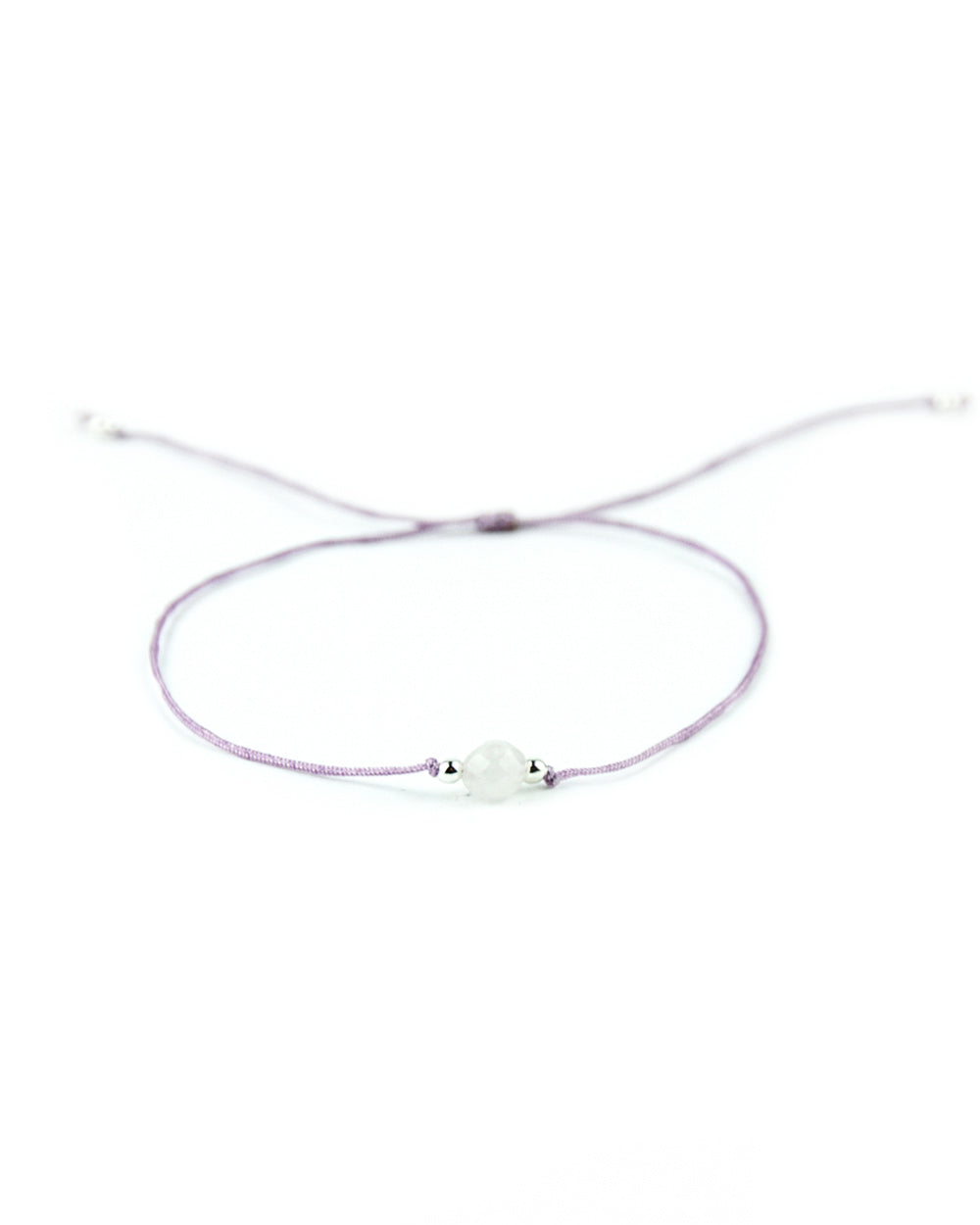 .... Lila Everyday Companion Armband mit Rosenquarz .. Purple Everyday Companion Bracelet with Rosequartz ....