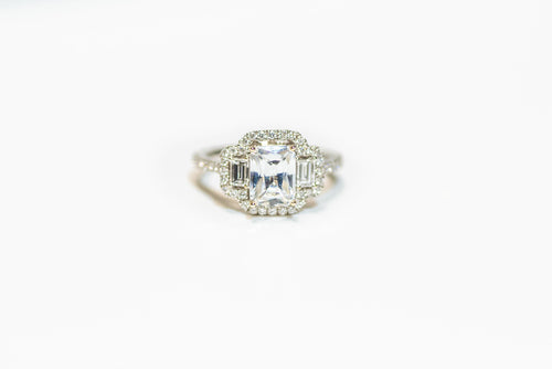 18K Engagement Ring
