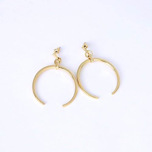 Crescent Moon Earrings - Gold/Silver
