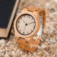 Montre en Bambou naturel Nakhon - Boutique Namaste