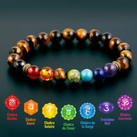 Bracelet 7 Chakras - Protection - Boutique Namaste