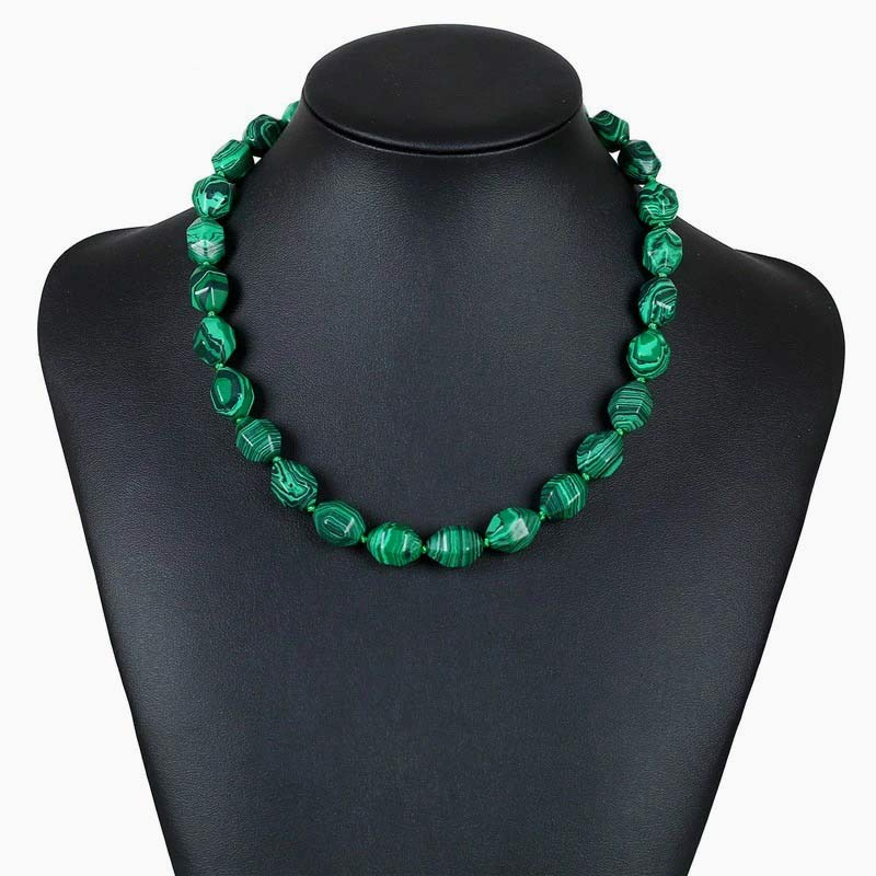Collier en Malachite - Boutique Namaste