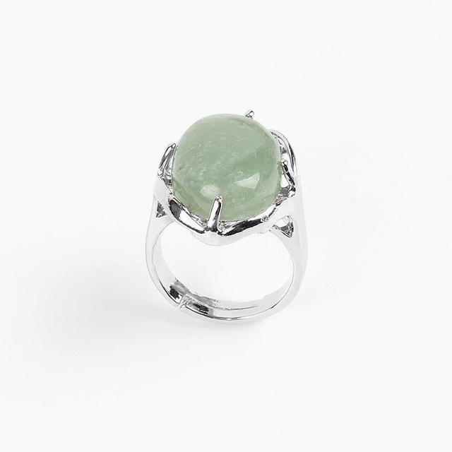 Bague en Aventurine - Protection - Boutique Namaste
