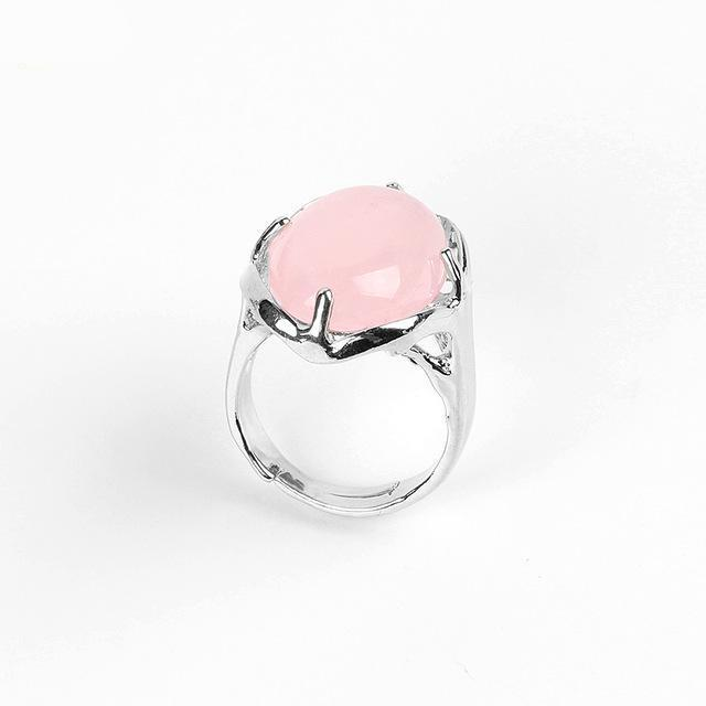 Bague en Quartz Rose - Emotions - Boutique Namaste