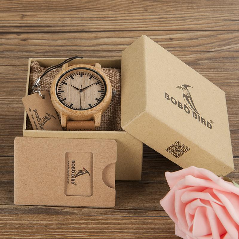 Montre en Bambou naturel - Janakpur - Boutique Namaste
