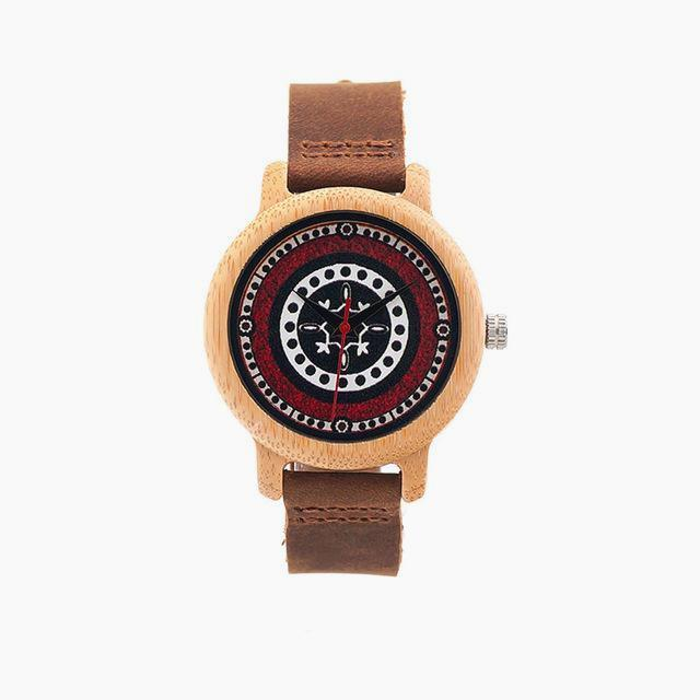 Montre en Bambou naturel - Pohkara - Boutique Namaste