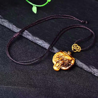 Collier en Oeil de Tigre - Protection Féline - Boutique Namaste