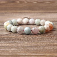 Bracelet en Morganite - Relations - Boutique Namaste