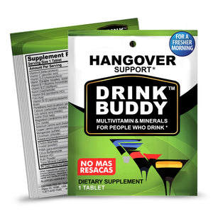 FREE 4 Single serve packs - DRINKBUDDY