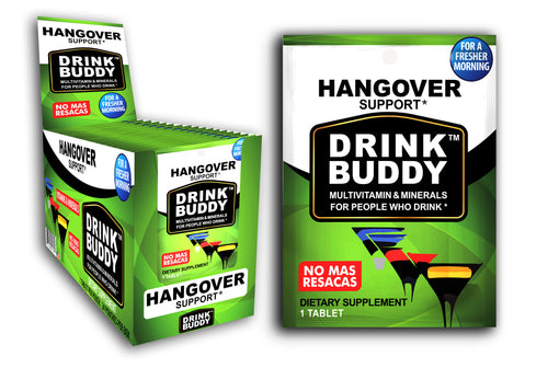 Party box (24 single serve packs) - DRINKBUDDY