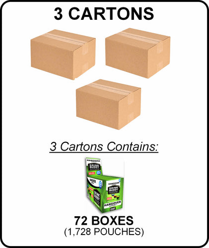 3 Cartons - DRINKBUDDY