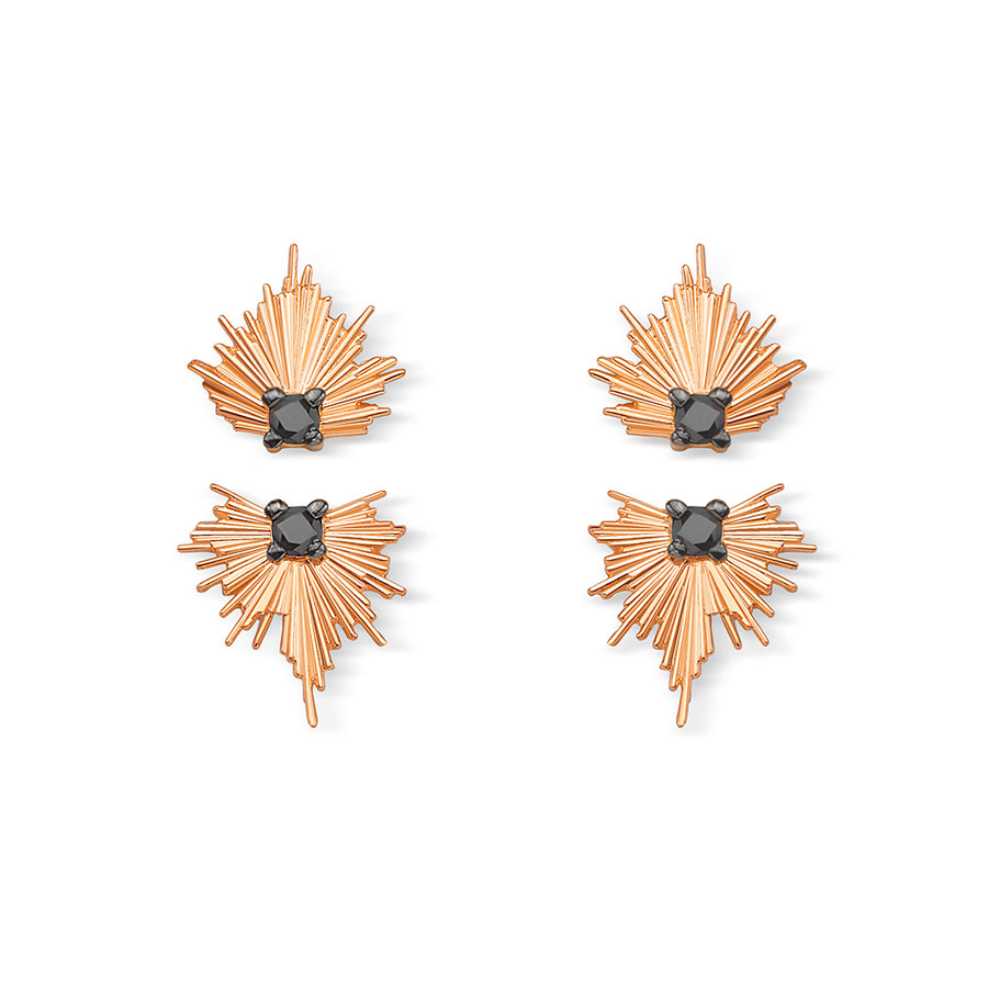 Evolution Black Diamond Earrings Short