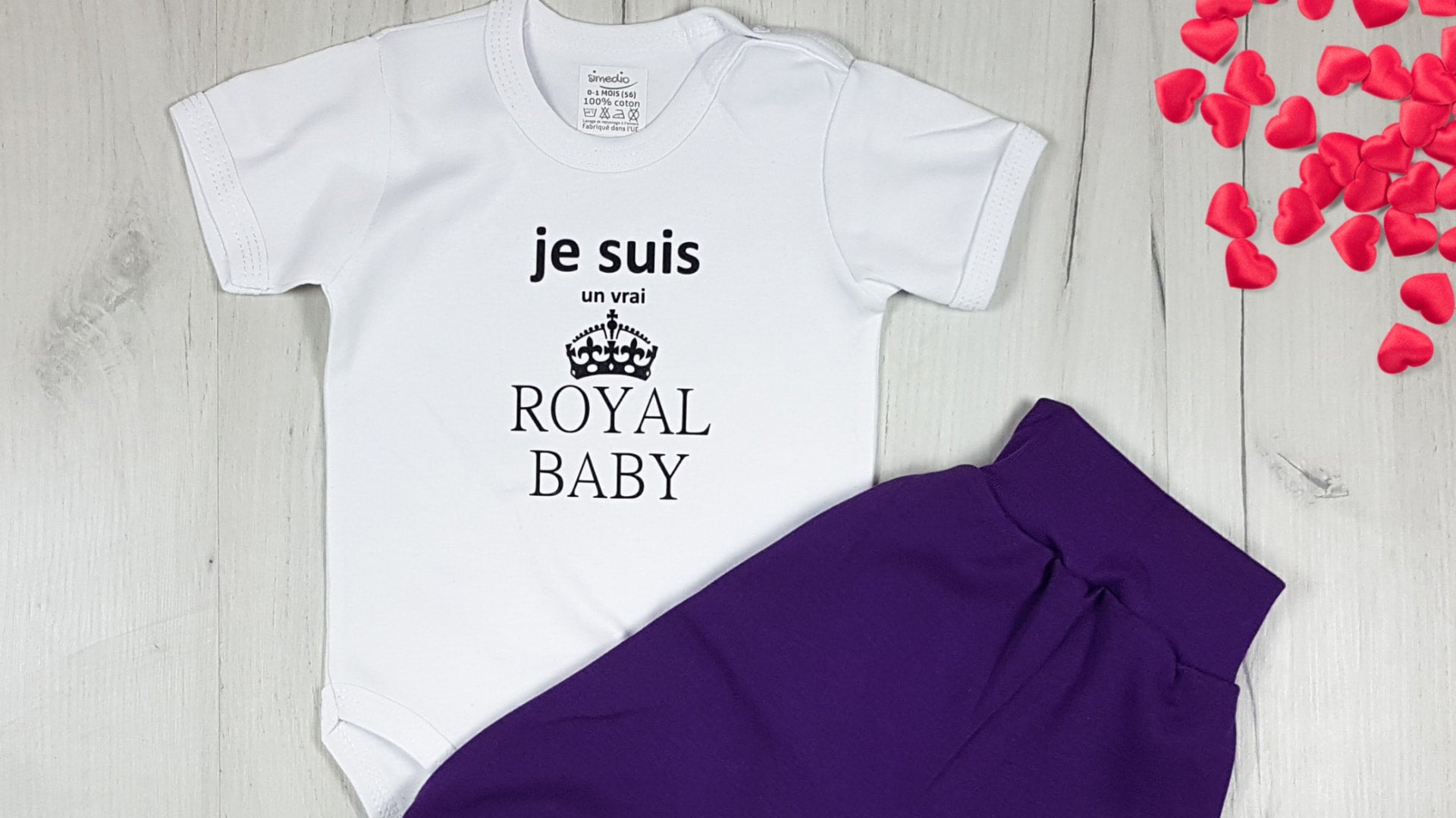 body bebe je suis royal baby