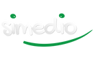 SIMEDIO Logo white