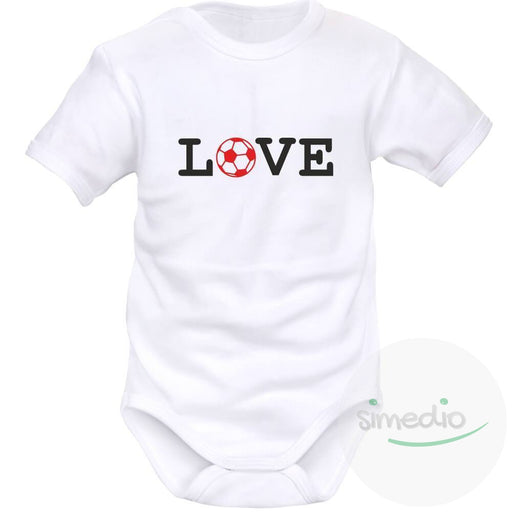 Body bébé de sport : LOVE, , , - SiMEDIO