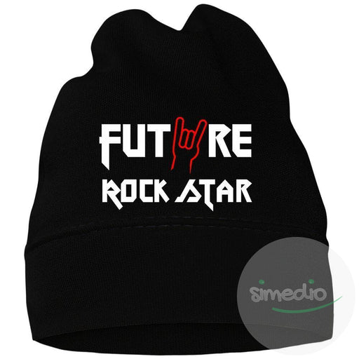 Bonnet bébé rock : FUTURE ROCK STAR, , , - SiMEDIO