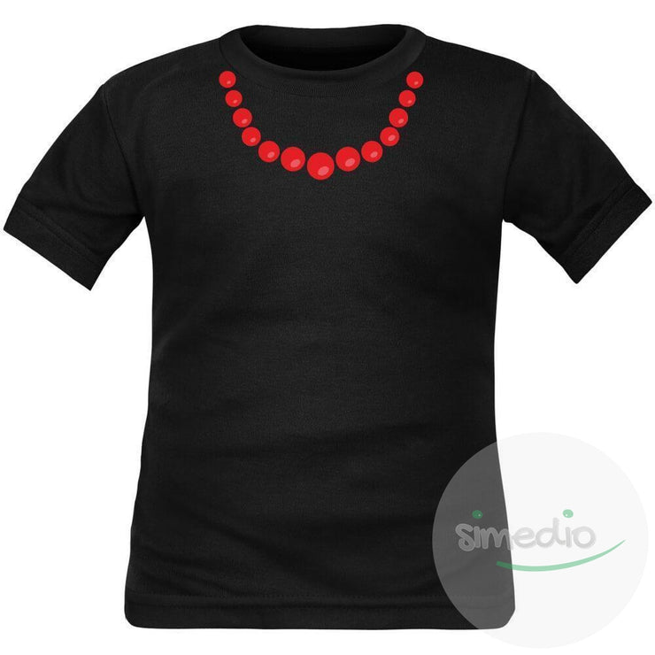 T-shirt enfant original : COLLIER, , , - SiMEDIO