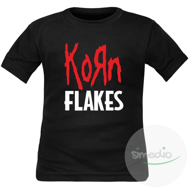 T-shirt enfant rock : KORN FLAKES, , , - SiMEDIO