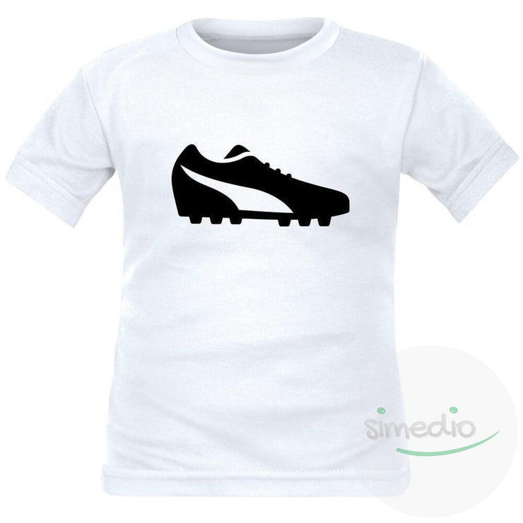 Tee shirt enfant de sport : CHAUSSURE de football, , , - SiMEDIO