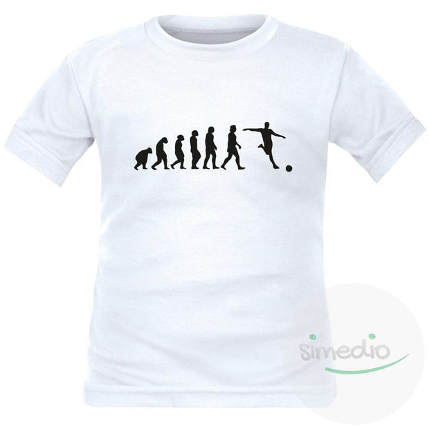 Tee shirt enfant de sport : EVOLUTION, , , - SiMEDIO