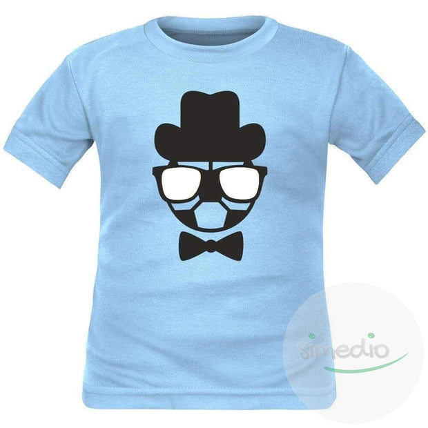Tee shirt enfant de sport : Monsieur FOOTBALL, , , - SiMEDIO