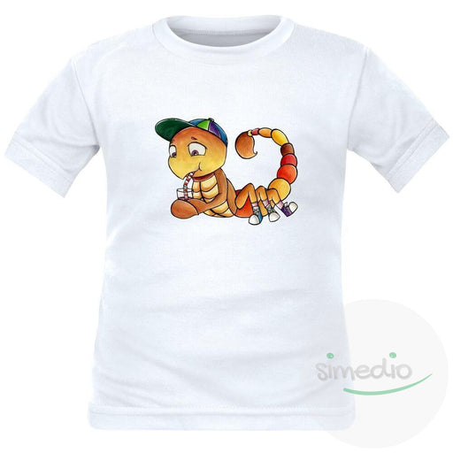 Tee shirt enfant signe du Zodiaque : SCORPION, , , - SiMEDIO
