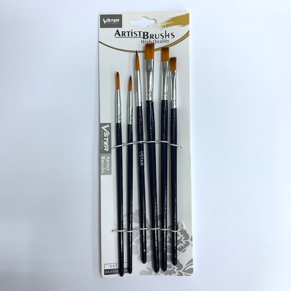 VSTAR Artist Brush AR-3202 (No.2,4,6,8,10,12)