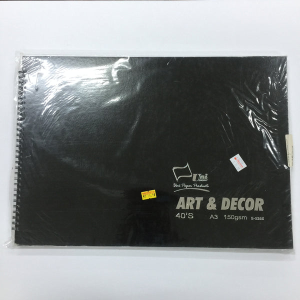 UNI PAPER Art & Decor A3 size Sketch Pad
