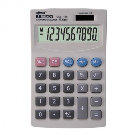 DOLPHIN Desktop Calculator DOL-1185 (10-Digits)