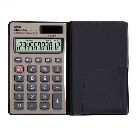 DOLPHIN Pocket Calculator DOL-276 (12-Digits)