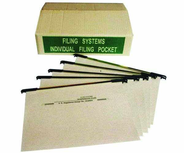 Snowdex Suspended File Individual Filing Pocket (50PCs/Box)