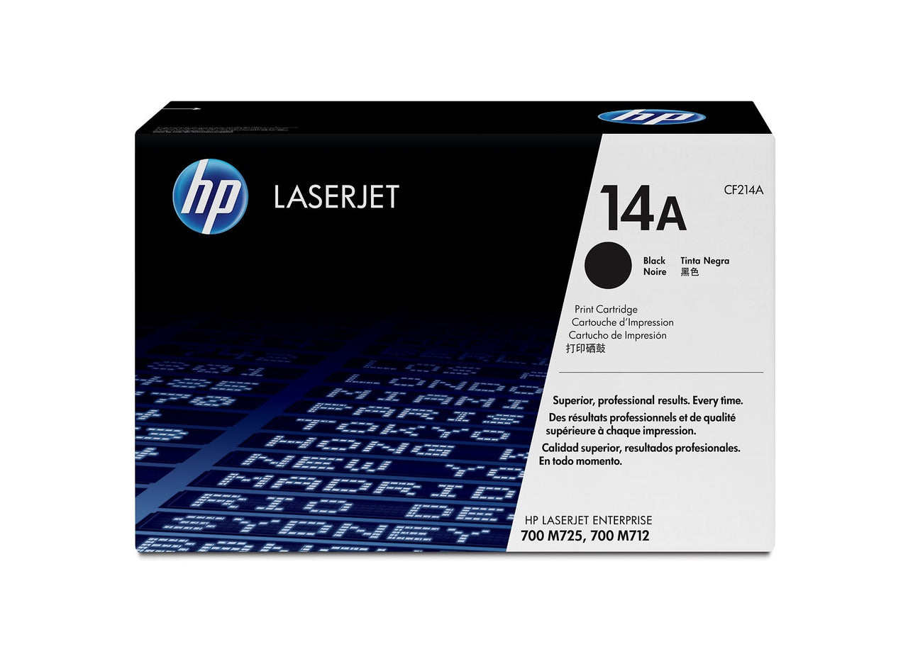 HP Laserjet 700 MFP M712 Black Cartridge CF214A