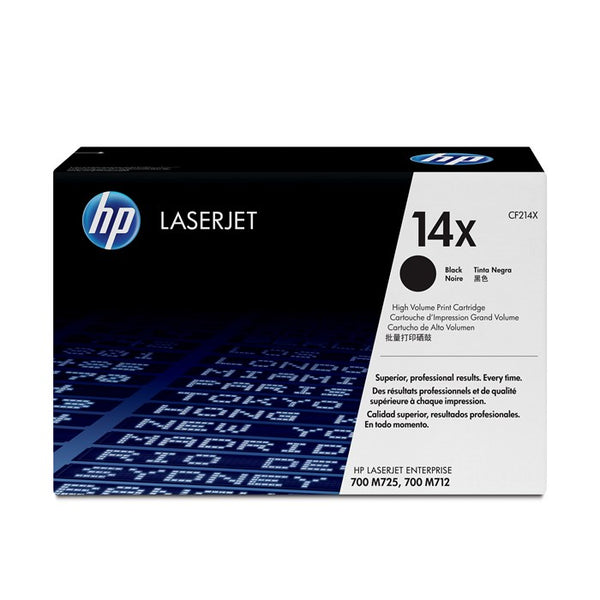 HP Laserjet 700 MFP M712 High Cap Black Cartridge CF214X