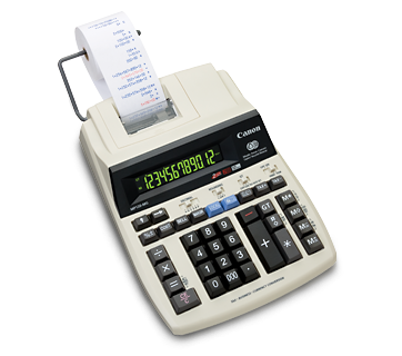 CANON MP121-MG 2-Colour Printing Calculator