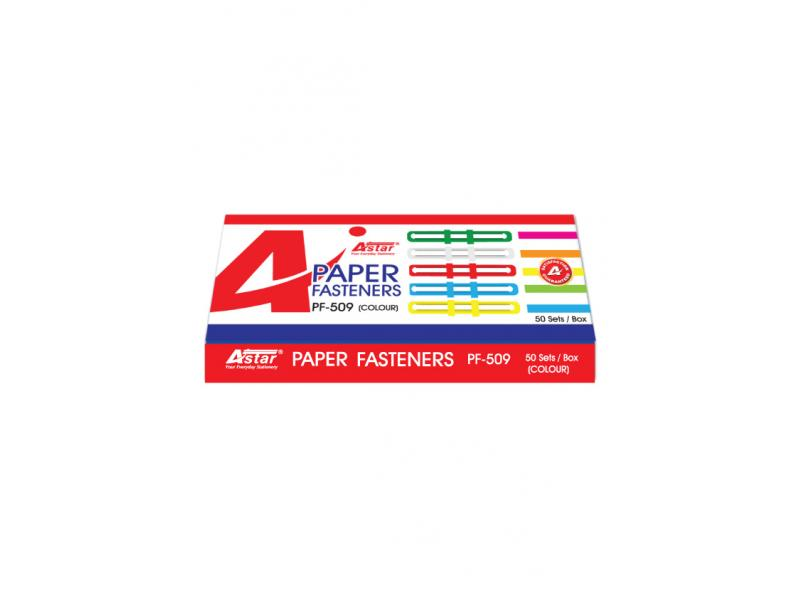 Astar Paper Fastener Mix Colour PF-509