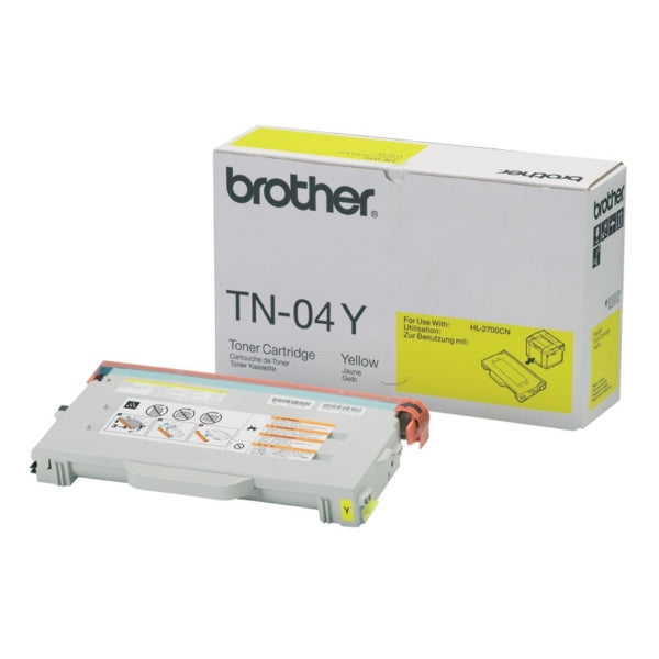 Brother TN-04Y Yellow Toner (6,600 PGs)
