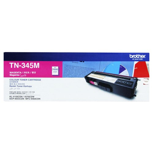 Brother TN-345M Magenta Toner (3,500 PGs)